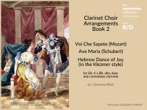 Clarinet Choir Arrangements Book 2