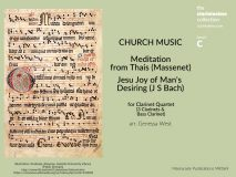 Church Music for Clarinet Quartet