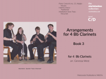 Arrangements for 4 Bb Clarinets Book 3
